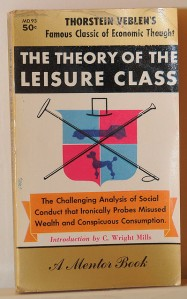 Thorstein Veblen - Theory of the leisure class by alexisorloff I http://www.flickr.com/photos/aorloff/4353268909/ I CC-BY license (http://creativecommons.org/licenses/by/2.0/deed.en) (cropped)
